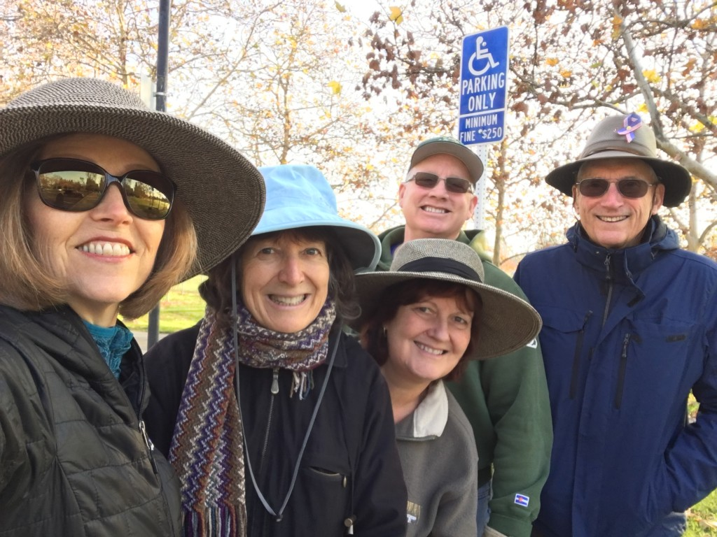 Al joined our Wednesday walking group and he walked for two hours with us! Nutmeg Notebook