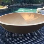 Unfinished Bowl Nutmeg Notebook