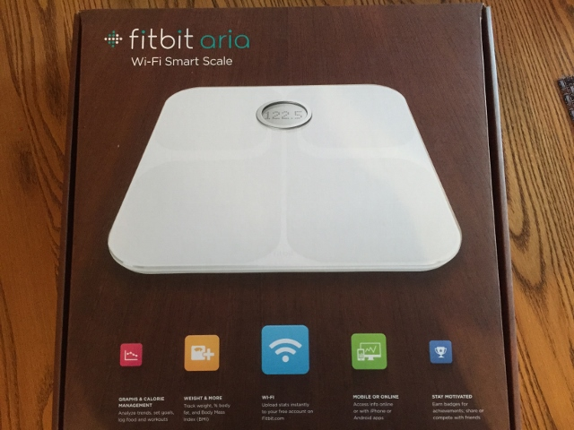 Fitbit Aria Scale Nutmeg Notebook