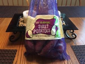 Japanese Sweet Potatoes Nutmeg Notebook