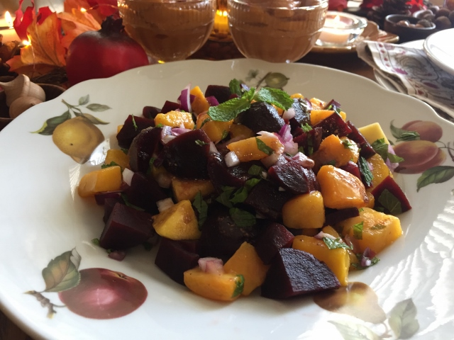Chef AJ's Bodacious Beet Salad Nutmeg Notebook