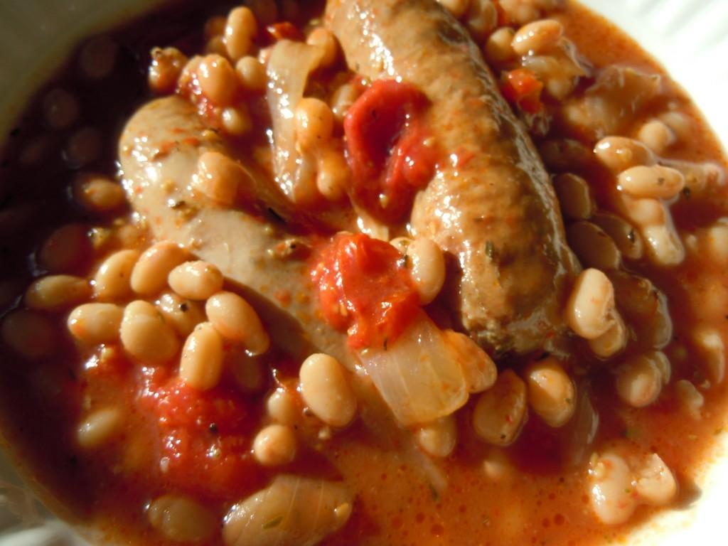 Cassoulet Style Italian Sausages and White Beans » Nutmeg ...