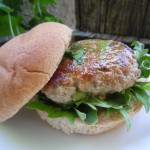 Kale Slaw Asian Turkey Burgers 017
