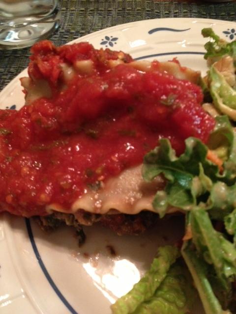 Katy's Starry Night Vertical Lasagna