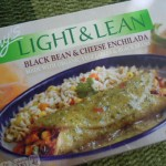Amy&#039;s Light &amp; Lean Black Bean &amp; Cheese Enchilada
