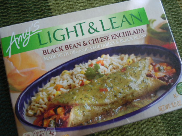 Amy's Light & Lean Black Bean & Cheese Enchilada