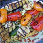 Kebabs, Veggies, Chicken 070