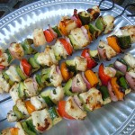 Kebabs, Veggies, Chicken 076