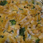 Lemon cupcake, chicken penne &amp;  basil 017