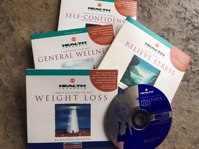 Health Journeys Guided Meditation Nutmeg Notebook