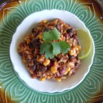Mexican Quinoa Rice & Beans Nutmeg Notebook