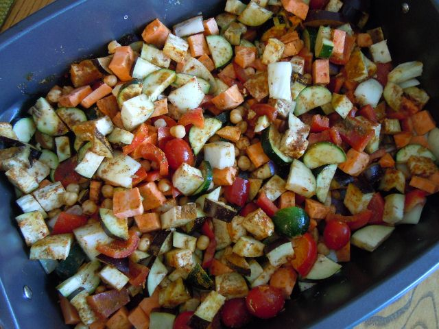 Moroccan Roasted Vegetables / Weighing In Week 18 On The ...