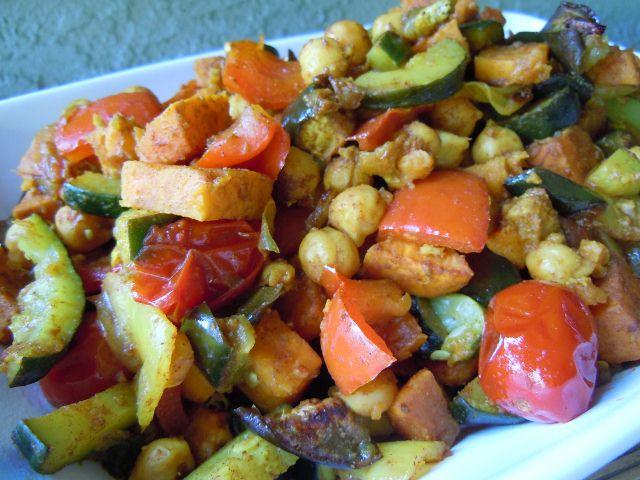 Moroccan Roasted Vegetables » Nutmeg Notebook