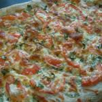 Organic Basil Pizza 023
