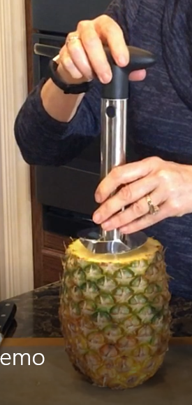 SS Pineapple Easy Slicer Nutmeg Notebook