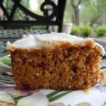 Polenta, carrot cake 015