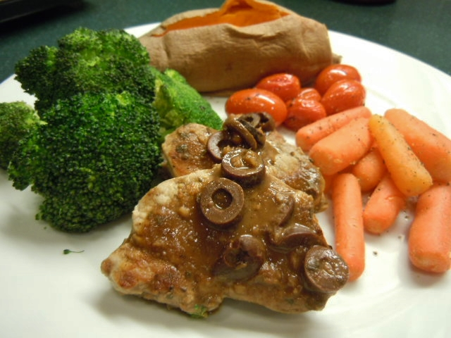 Pork Tenderloin with Red Wine Sauce