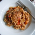 Smothered Chicken &amp; Barley