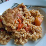Smothered Chicken and Barley