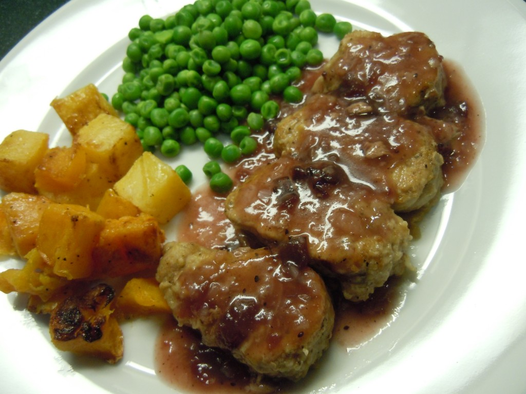 Pork Tenderloin With Cranberry Sauce Recipe — Dishmaps