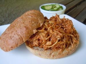 Pulled Chicken Sandwiches 013