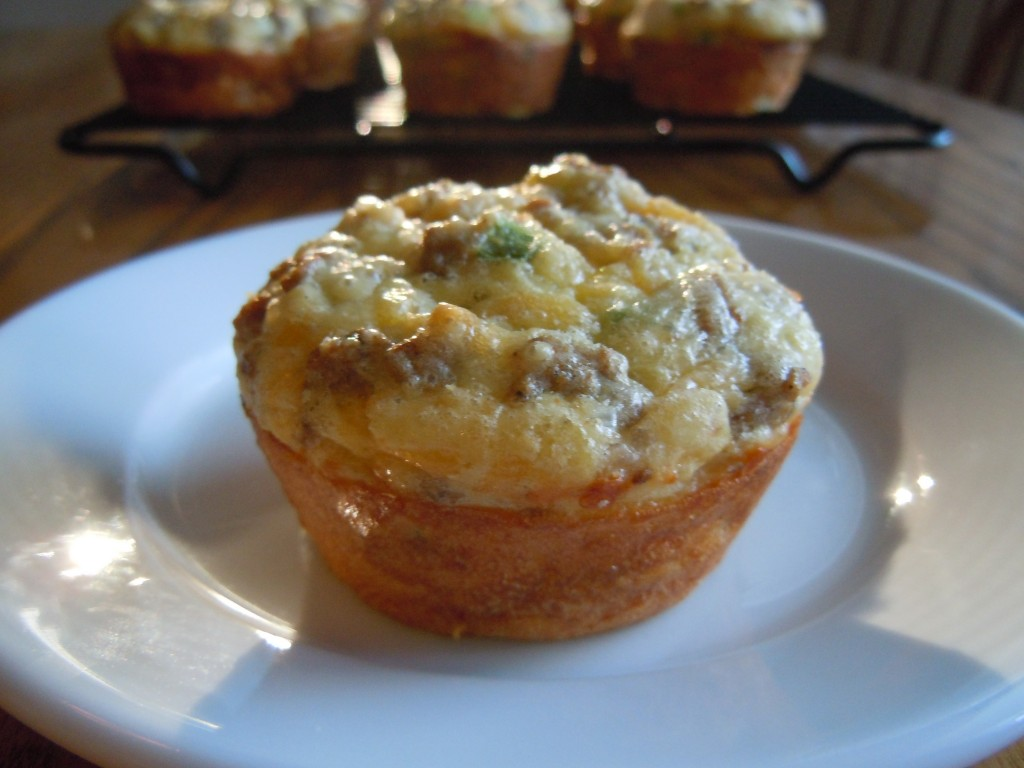 Sausage Cheese Egg Muffins » Nutmeg Notebook