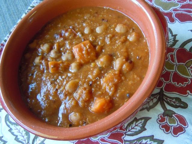 African Quinoa Peanut Stew