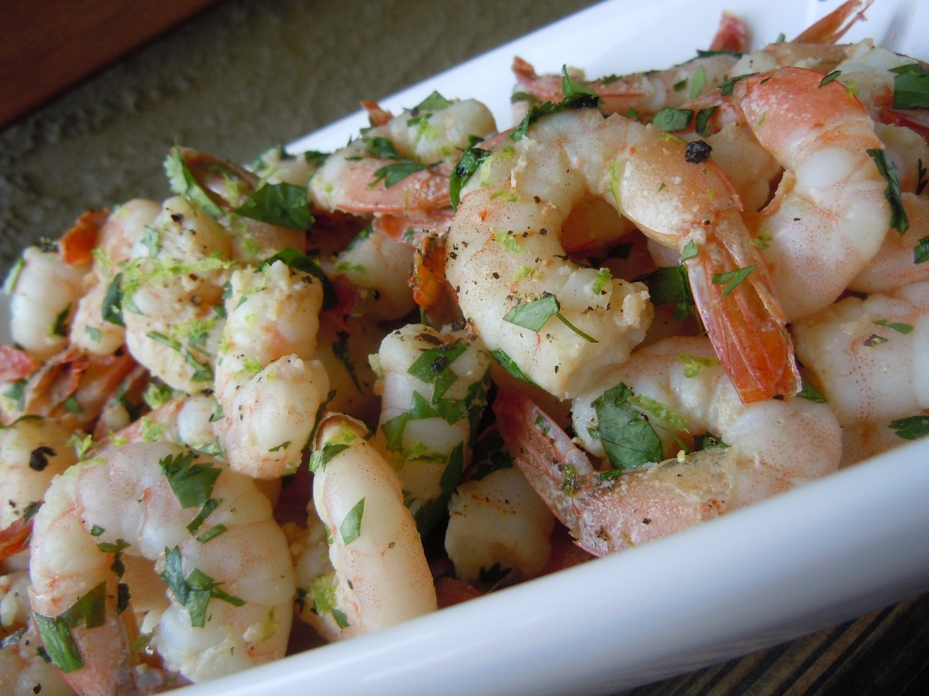 Shrimp with Cilantro & Lime » Nutmeg Notebook