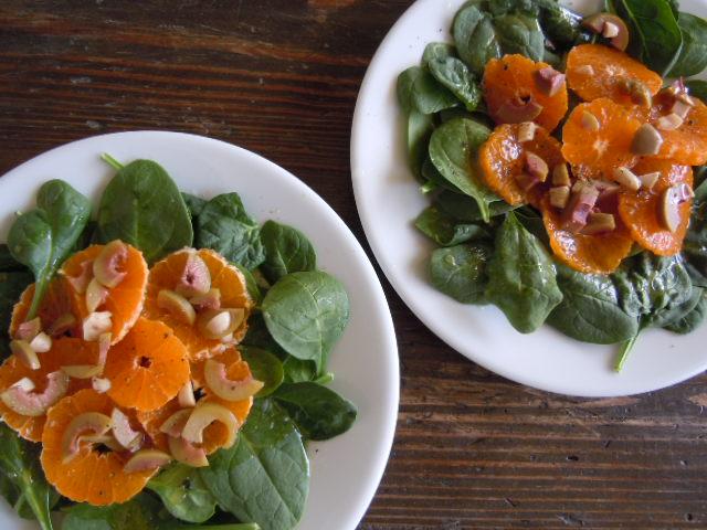 Orange Green Olive Salad