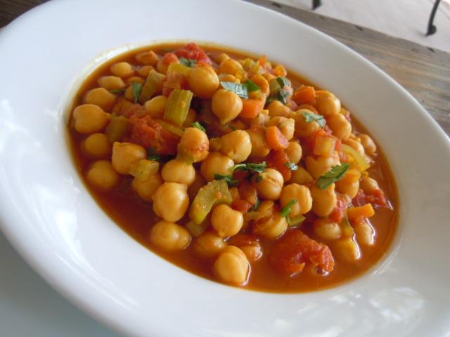 Moroccan Chickpea Chili