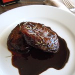 Pork Tenderloin Medallions with Balsamic Reduction