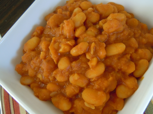 Chipotle Bake Beans Slow Cooker