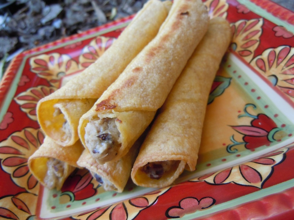 Baked Chicken Taquitos » Nutmeg Notebook