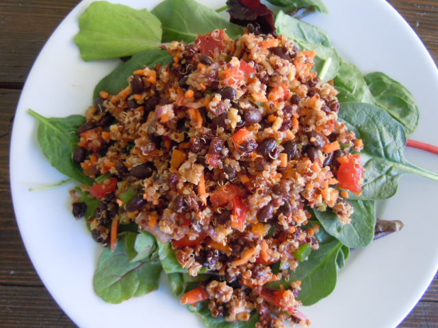 Quinoa Bean Salad