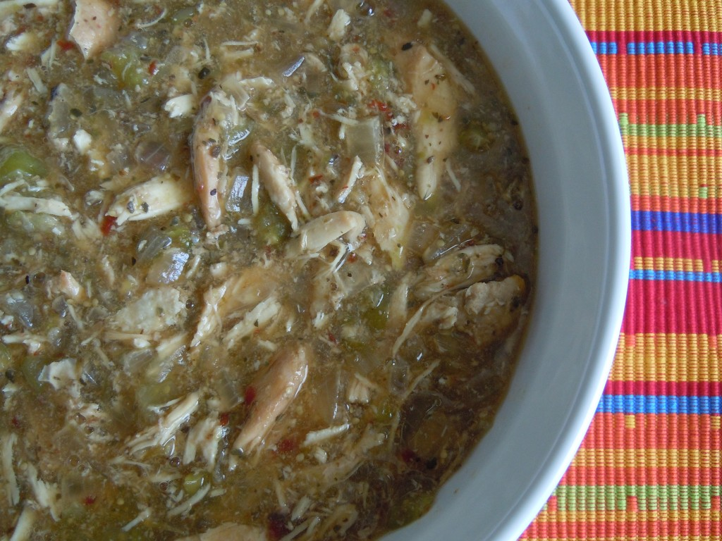 Smoky Tomatillo Chicken – Slow Cooker » Nutmeg Notebook