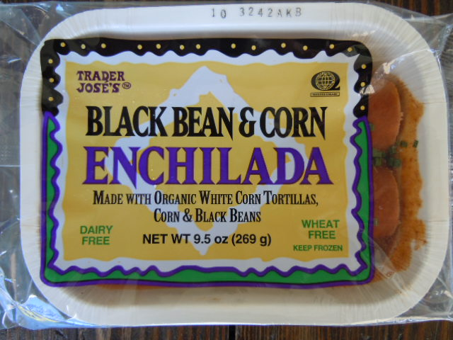 Trader Joes Black Bean & Corn Enchilada