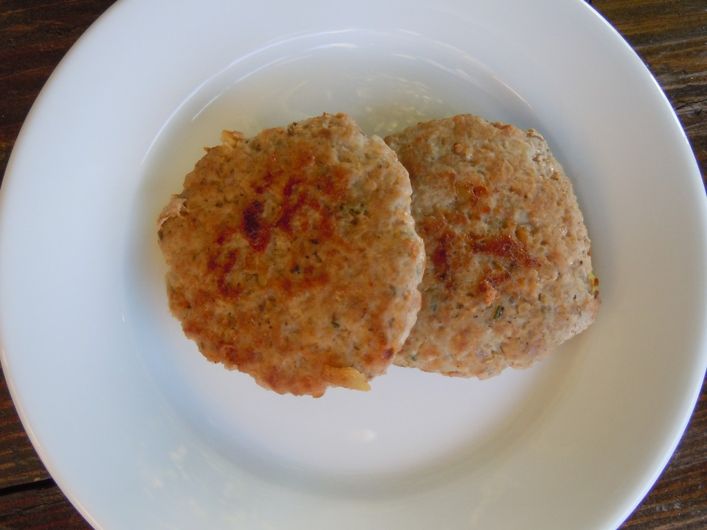 how to make ground turkey sausage patties