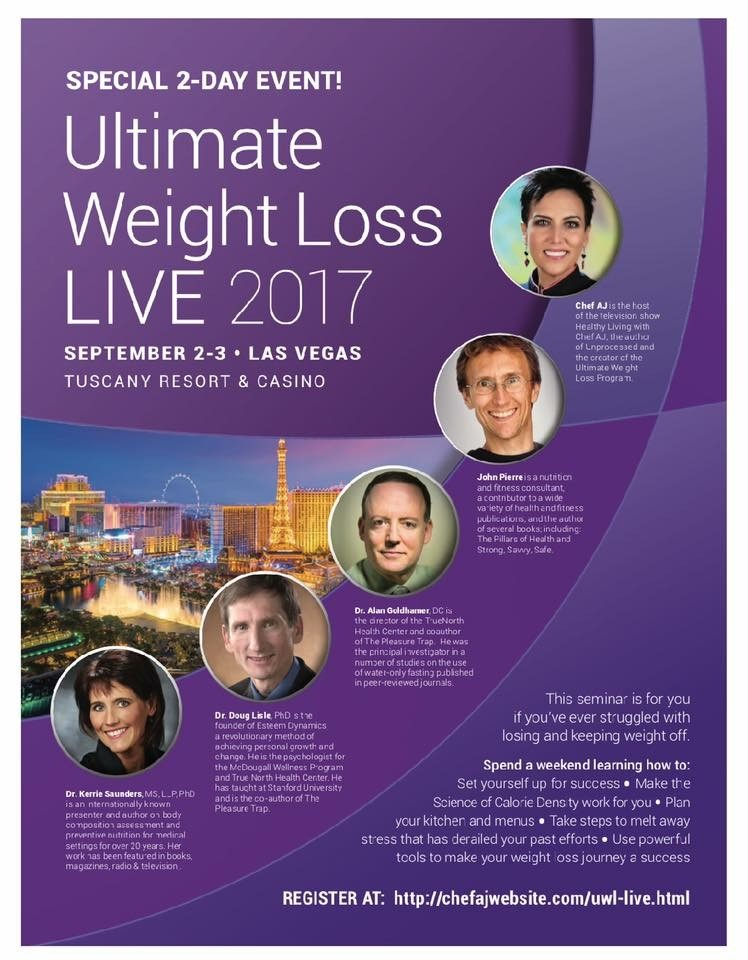 Ultimate Weight Loss Live Vegas 2017 Nutmeg Notebook
