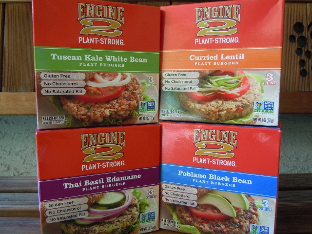 Engine 2 Veggie Burgers