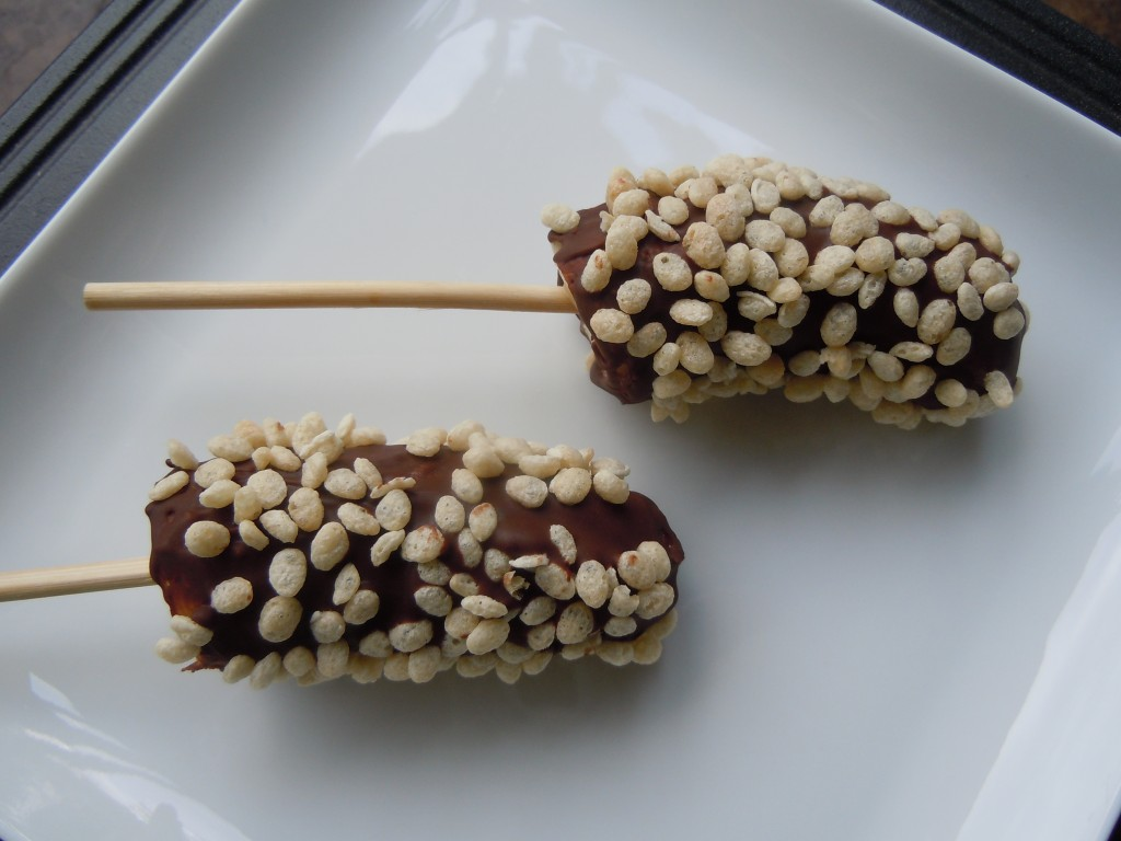 Frozen Chocolate Covered Bananas » Nutmeg Notebook