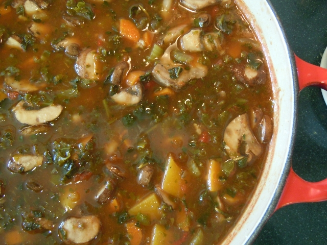 Winter Vegetable Soup Recipe — Dishmaps