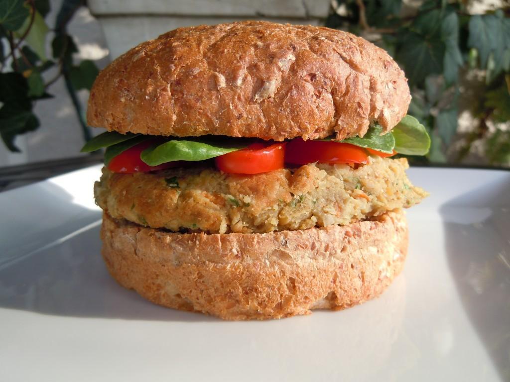 Falafel Burgers » Nutmeg Notebook